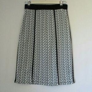 Le Lis by Stitch Fix🌸 Black & White Skirt